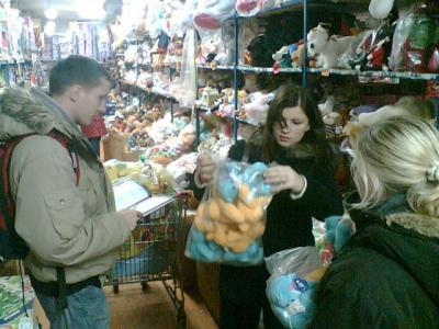 Akcja Żółto-Niebieski Mikołaj - Zakupy